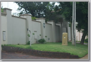 Walls - brick wall fence designs south africa